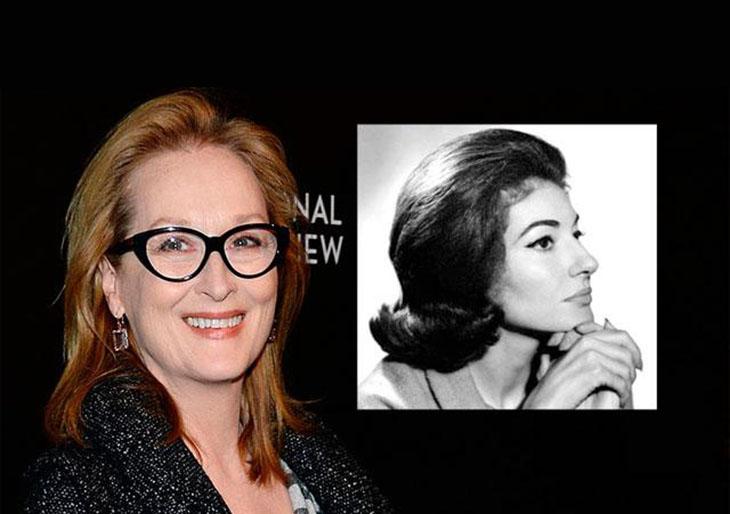 Meryl Streep dará vida a María Callas en película para HBO