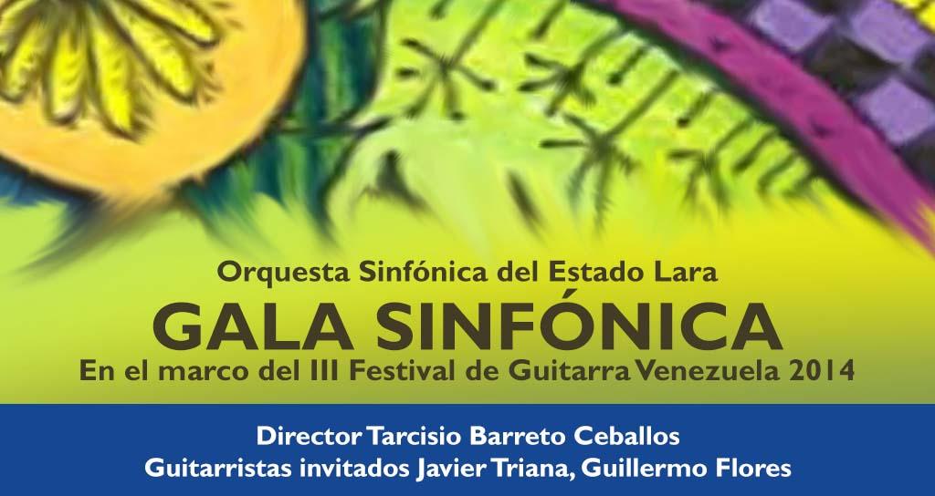 Gala Sinfónica en el Festival de la Guitarra