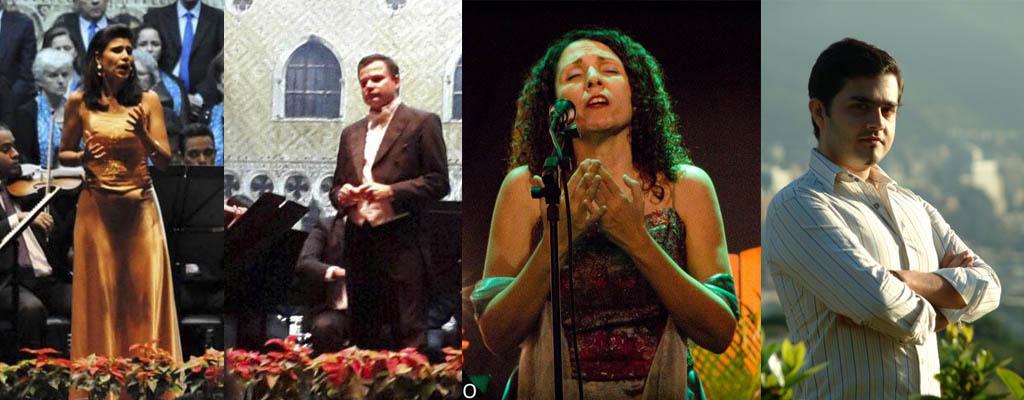 Rosanna Rizzo, Andrés Perillo, Geraldina Méndez, José Rafael Silva