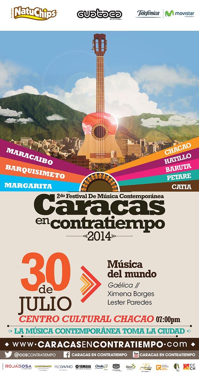 Caracas en Contratiempo le dará la vuelta al mundo en una noche