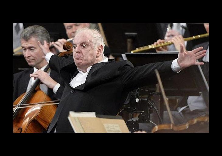 Daniel Barenboim: «Yo toco el piano. No sé si lo toco bien, pero lo toco mucho»