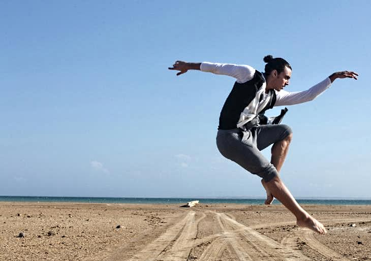 José Orta, bailarín de Ballet de la Mar se alzó con el 2do lugar en el Concurso Internacional de Ballet Clásico