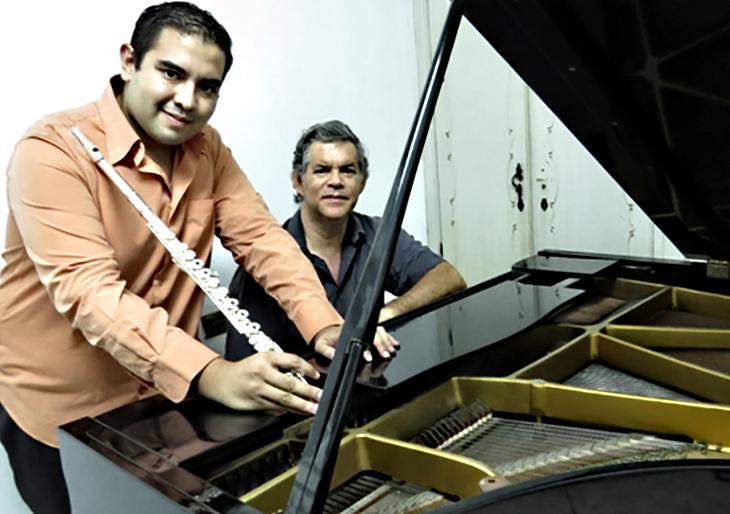 """""""Flauta y Piano en Recital"""" para el Salón Siglo XXI"""