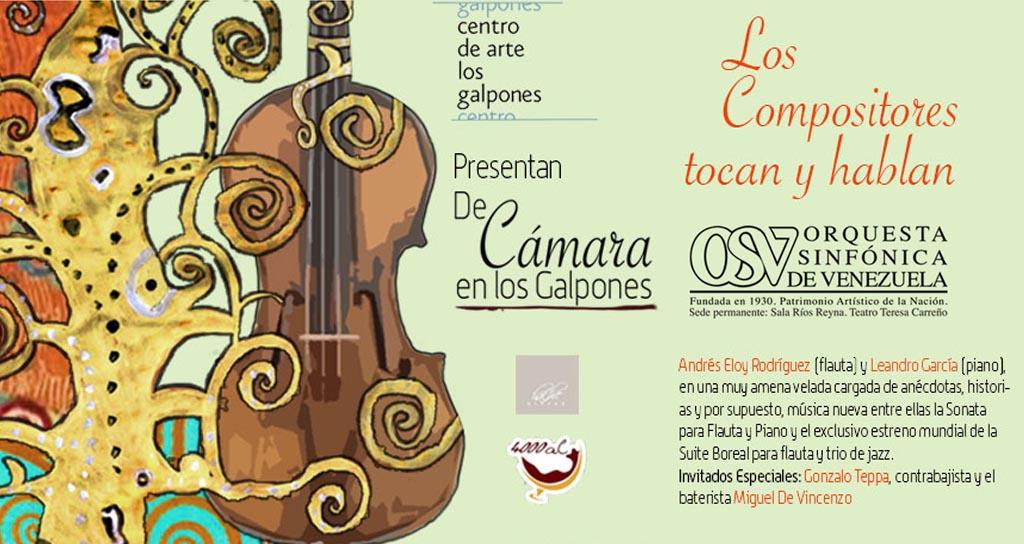 Anécdotas, historias y música nueva deleitarán al público en Los Galpones