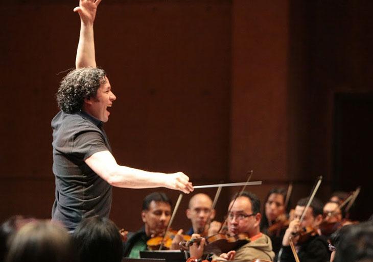 Así ensaya la Sinfónica Simón Bolívar en Bogotá
