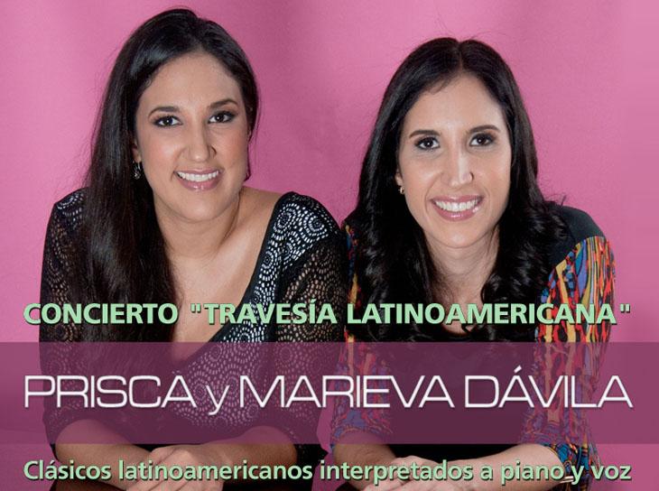 Prisca y Marieva Dávila harán una travesía Latinoamericana a 4 manos