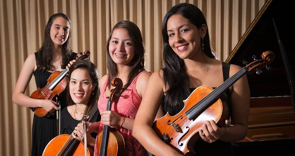 Concierto de los Ganadores del II Concurso de alumnos de la Escuela de Música Mozarteum Caracas