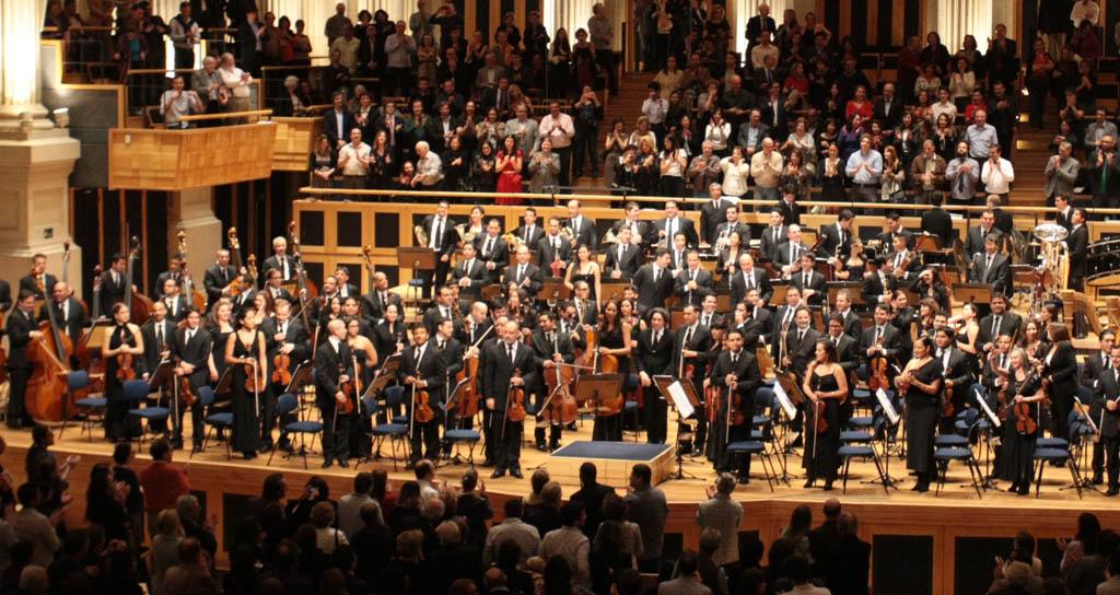 La Sinfónica Simón Bolívar fue aplaudida a casa llena en São Paulo