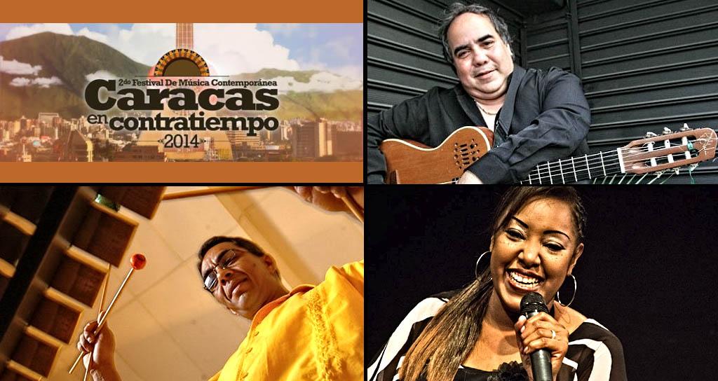 El 2do Festival Caracas en Contratiempo presenta a Alfredo Naranjo y el Guajeo // Aquiles Báez // Betsayda Machado