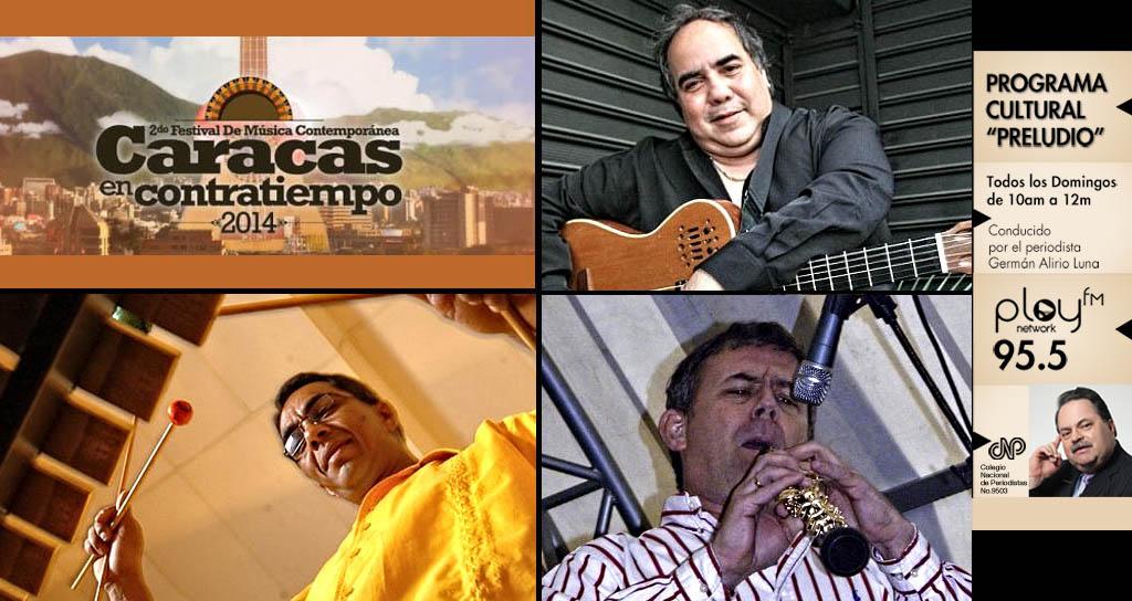 """El Festival Caracas en Contratiempo visita """"Preludio"""""""