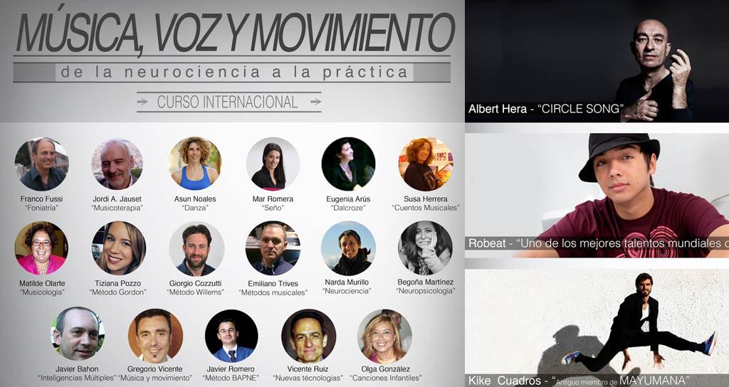 """Método BAPNE presenta en Alicante el """"Curso Internacional de Música, Voz y Movimiento"""""""
