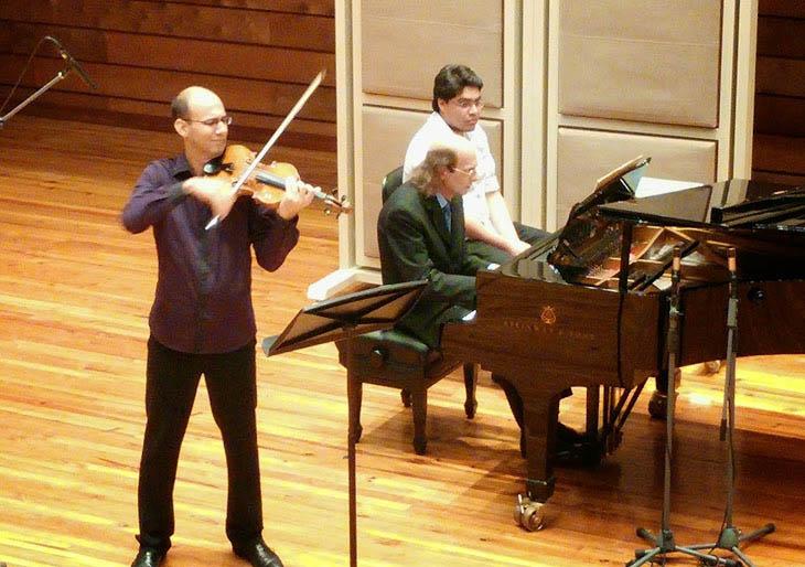 Las sonatas para violín de Beethoven y Franck vibrarán con el arco de Álvaro Lárez
