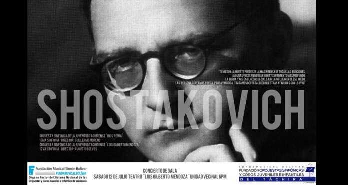 La obra de Shostakovich será interpretada por la juventud del estado Táchira
