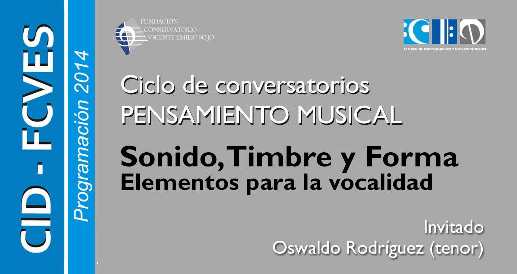 Sonido, timbre y forma: Elementos para la vocalidad