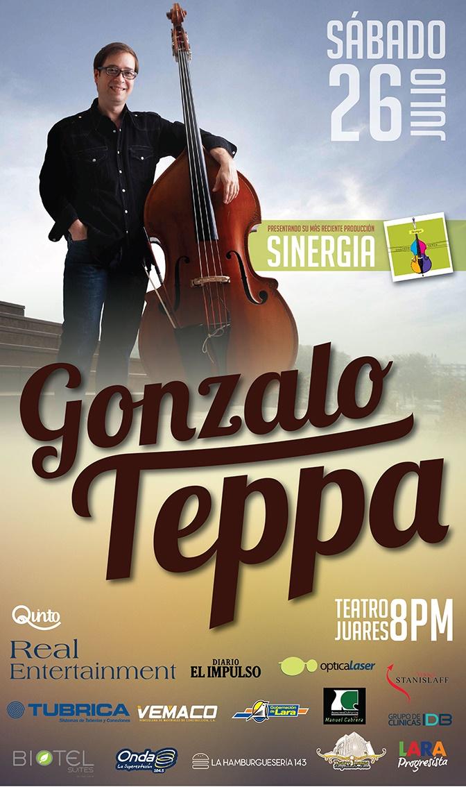 Gonzalo Teppa presenta Sinergia