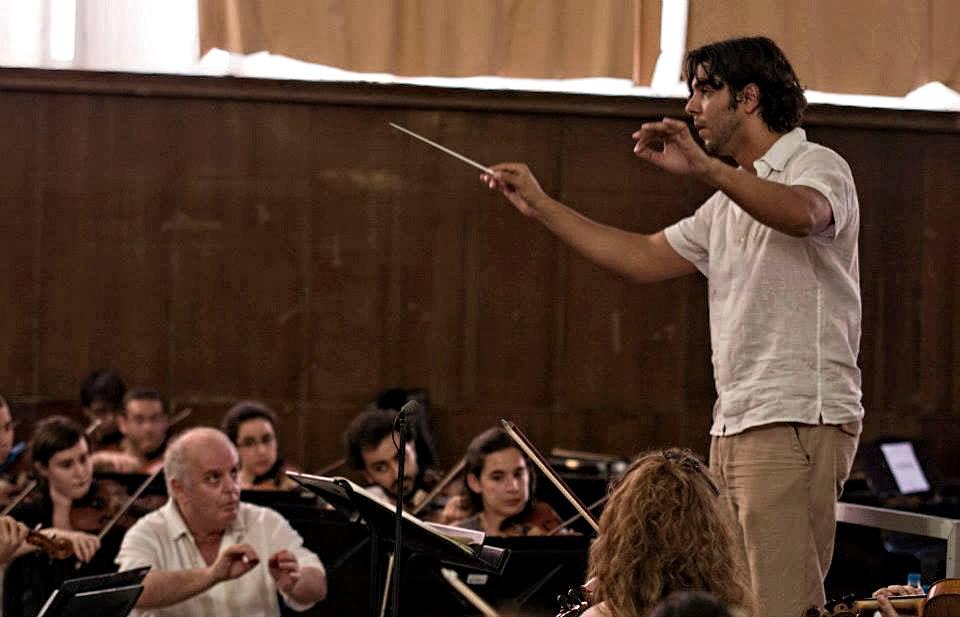 Daniel Barenboim en un Masterclass