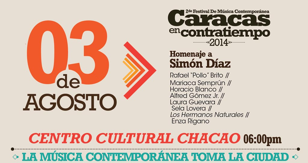 Caracas en Contratiempo se despide con un homenaje al Maestro Simón Díaz