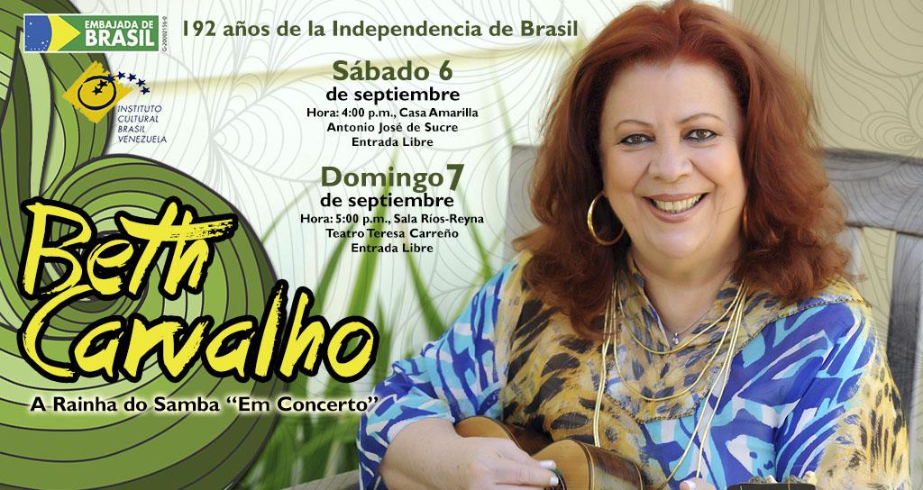 Beth Carvalho: A Rainha do Samba em Caracas