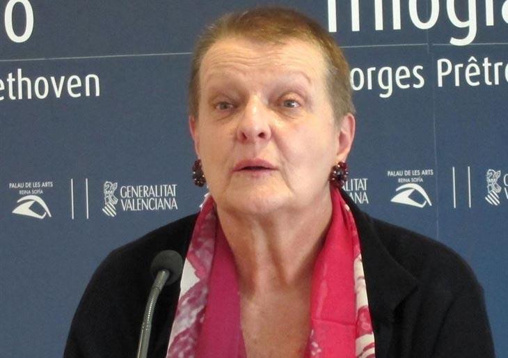 Helga Schmidt dejará Les Arts 'en meses' y elegirá a su sucesor