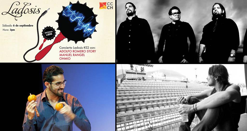 Concierto # 32 de LaDosis con Adolfo Romero Story, Manuel Rangel y Ohmio