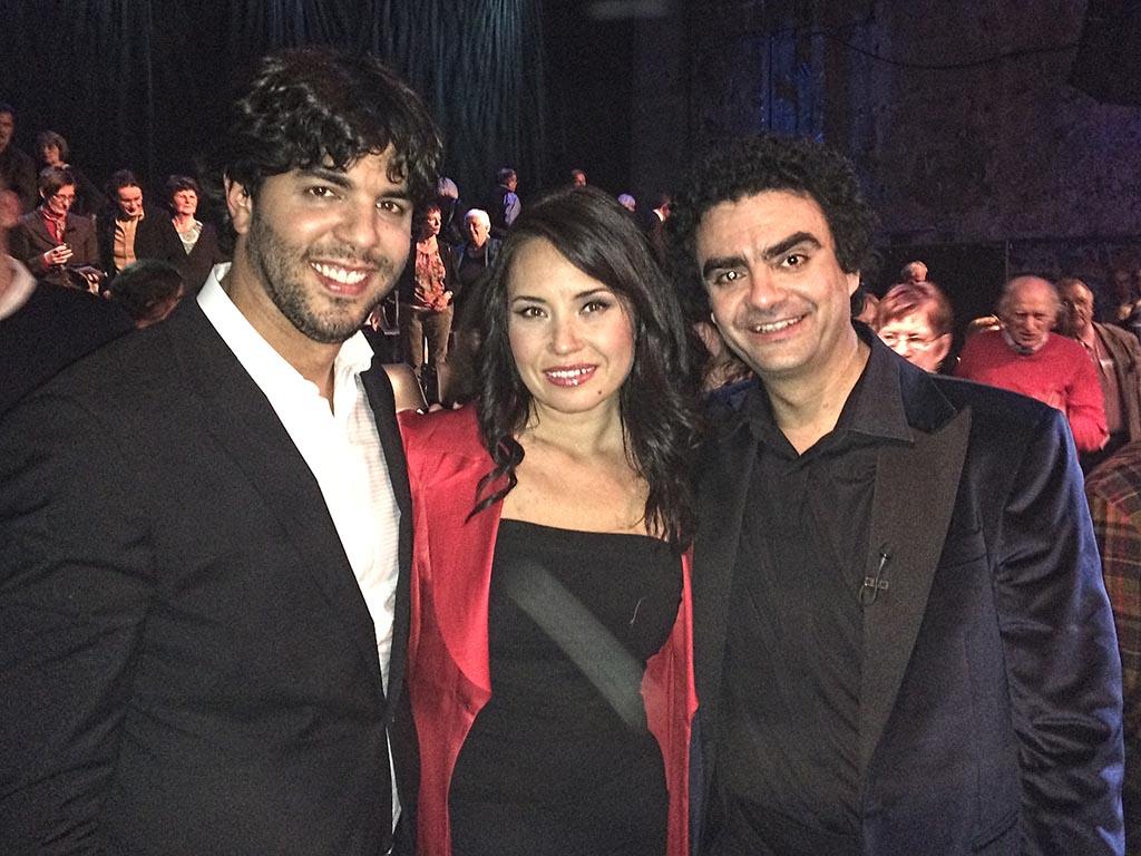 Domingo García Hindoyan, Sonya Yoncheva, Rolando Villazón