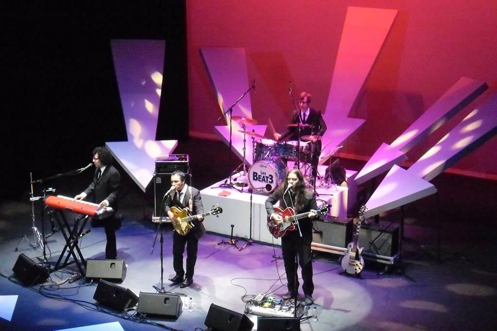 Los Beat3 traen su sonido Beatle del siglo 21 al Sibelius Fest