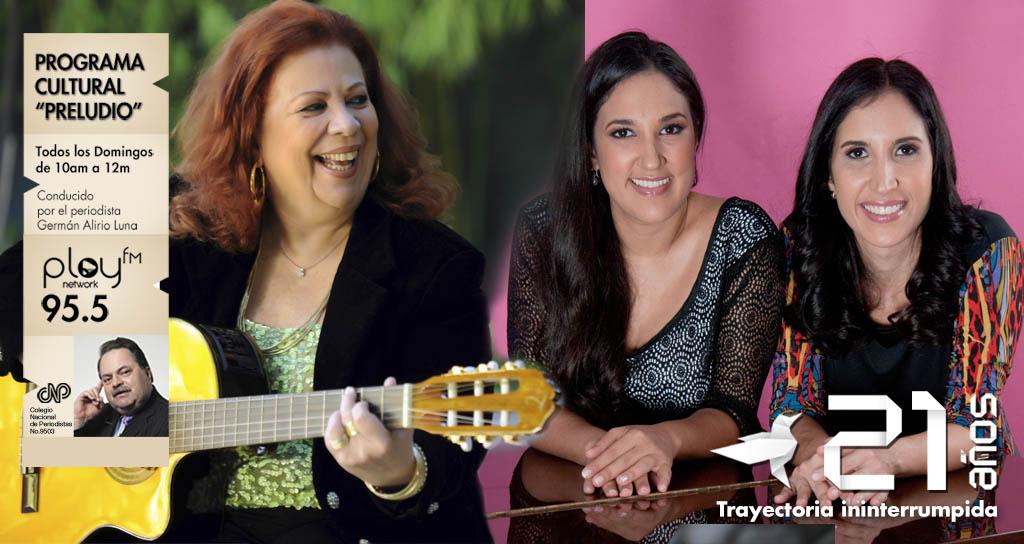 """Luis Volcanes nos cuenta sobre Beth Carvalho en """"Preludio"""" en compañía de las talentosas hermanas Dávila"""