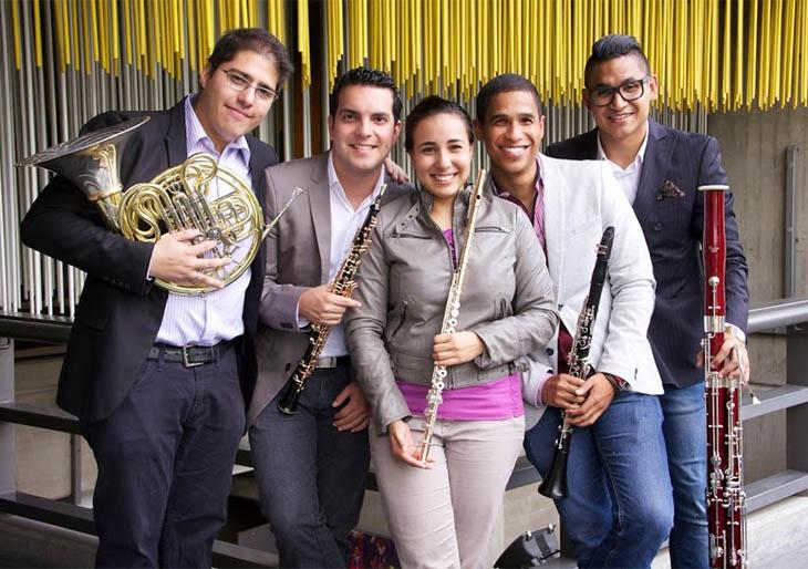 El Quinteto Arcadia debuta en concurso musical en Alemania