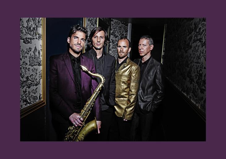 Cuarteto de jazz francés Samy Thiebault visita Lechería