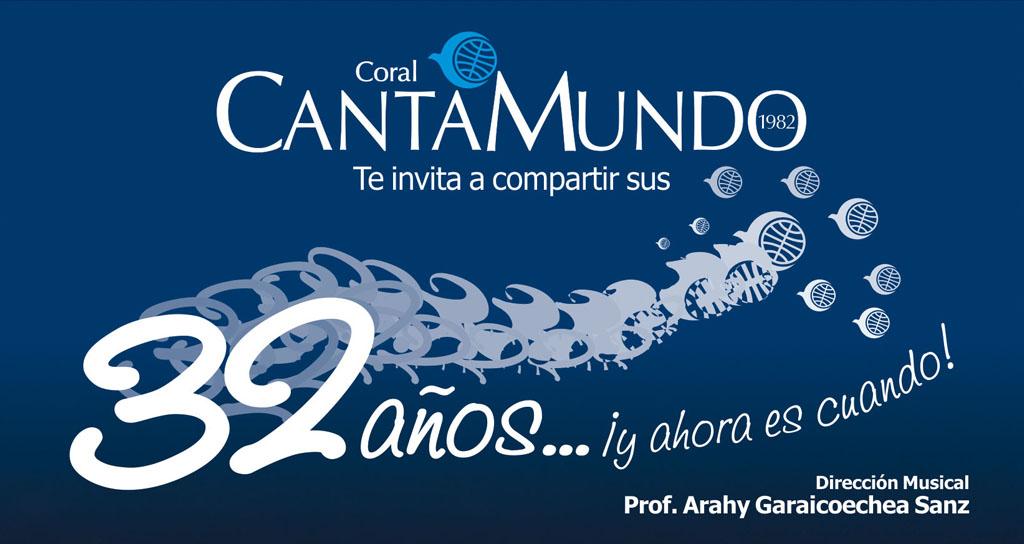 Coral CantaMundo, 32 años… y ahora es cuando!