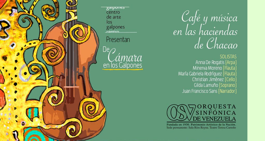 Café y Música en las Haciendas de Chacao, junto a la Sinfónica de Venezuela