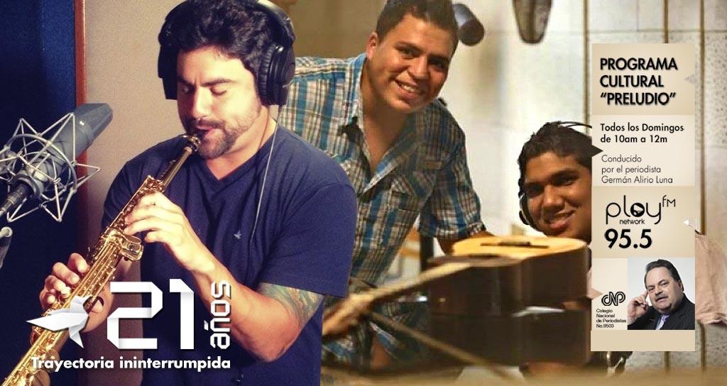 """Eric Chacón y Guasak4 invitados en """"Preludio"""""""