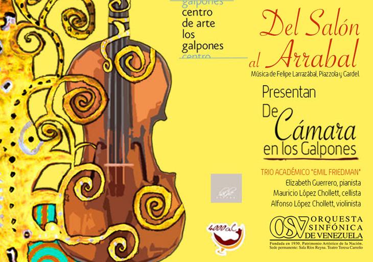 Trío Académico Emil Friedman deleitará con tangos y música de salón