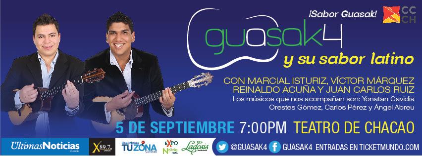 Guasak4 mezcla tradición y sabor en el Teatro de Chacao
