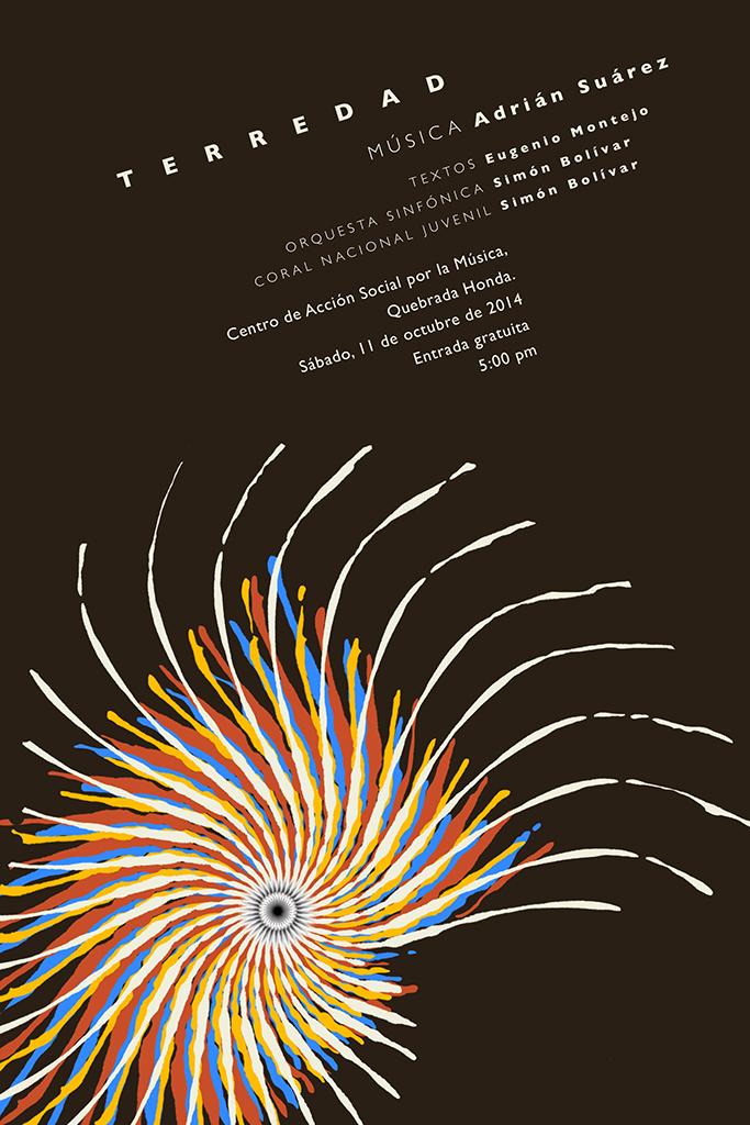Adrián Suárez presenta su obra Terredad, inspirada en Eugenio Montejo