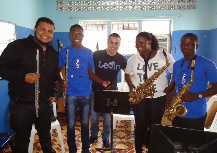 El Sistema contribuye con la formación musical de jóvenes angoleños