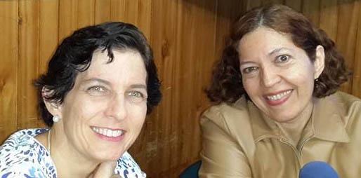 Ana María Raga y Flor Marina Yánez Lezama
