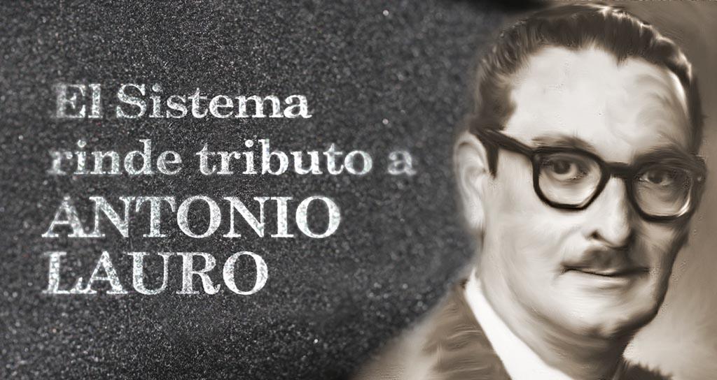 El Sistema rinde tributo a Antonio Lauro