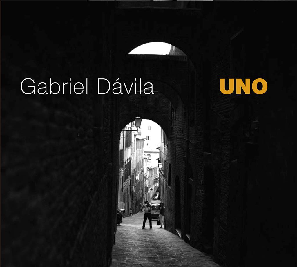 PORTADA DISCO UNO GABRIEL DAVILA