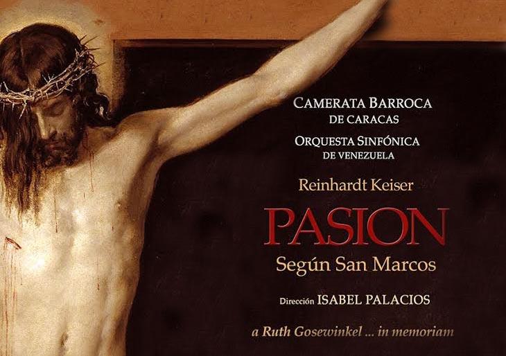 """Camerata Barroca revisita """"El evangelio según San Marcos"""" de Keiser"""