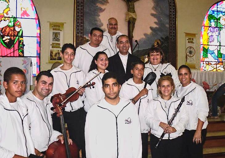 Orquesta Típica Luisa Cáceres prepara concierto en el teatro Teresa Carreño