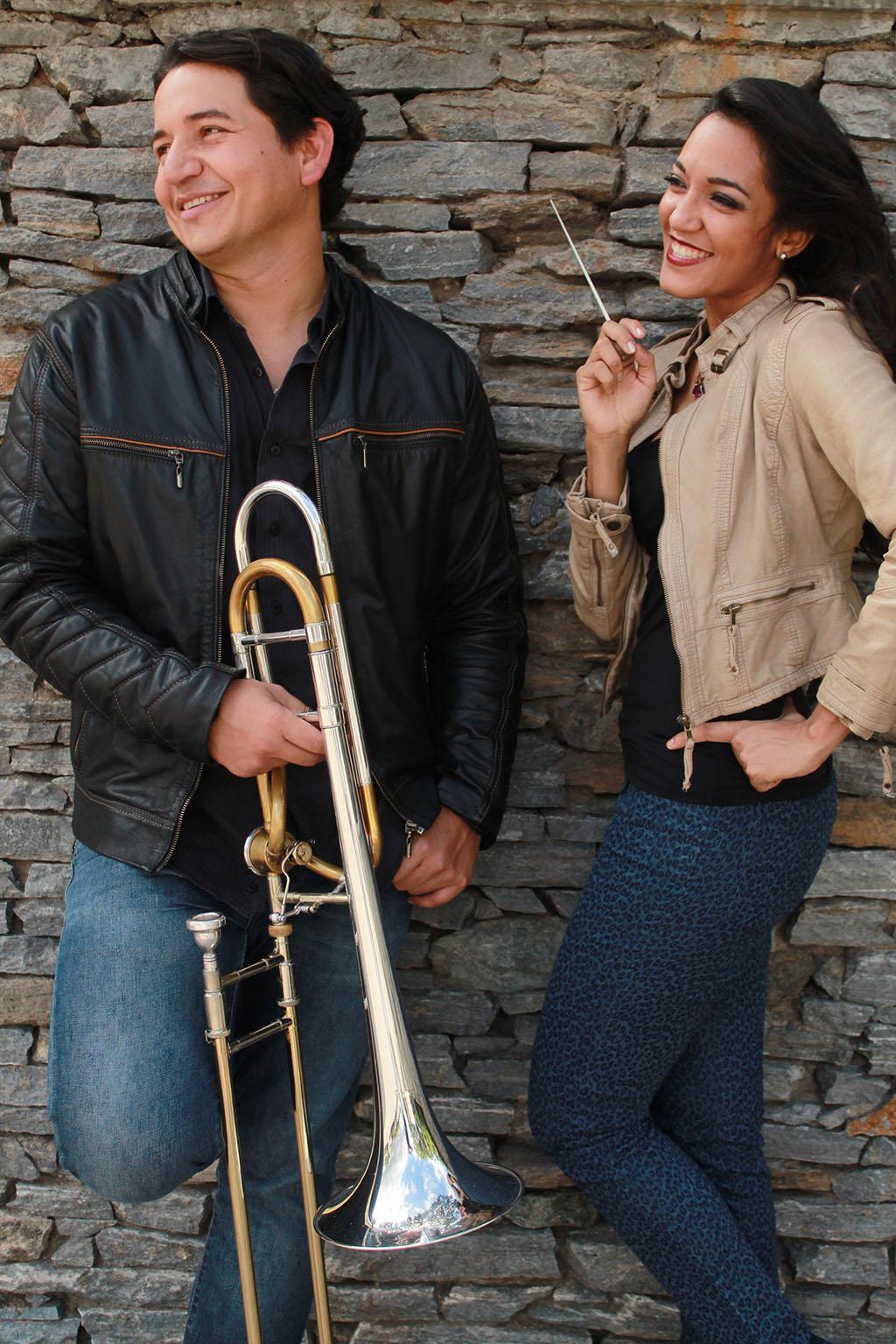 Miguel Sánchez y Victoria Sánchez