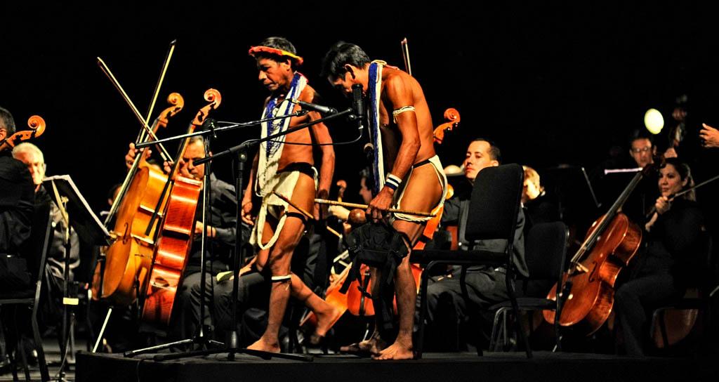 Ritmos indígenas con sonido Filarmónico