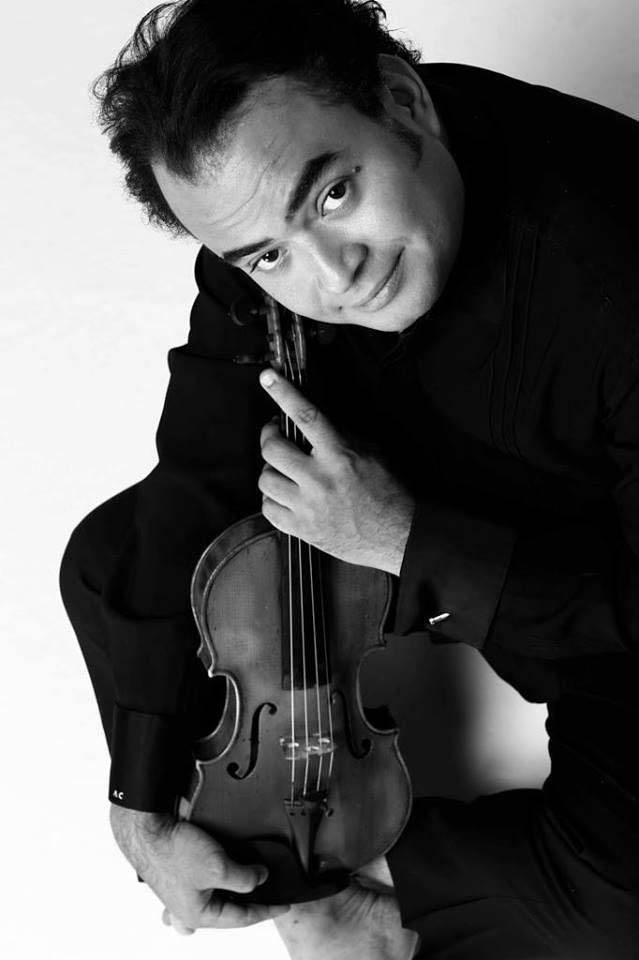 El violinista venezolano Alexis Cárdenas retoma el sábado el ciclo de Cámara+Piano del CCMD