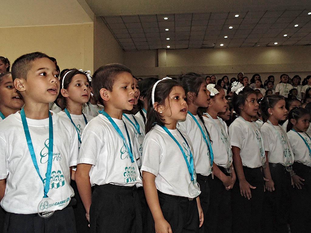 Los pequeños guariqueños demostraron su talento vocal
