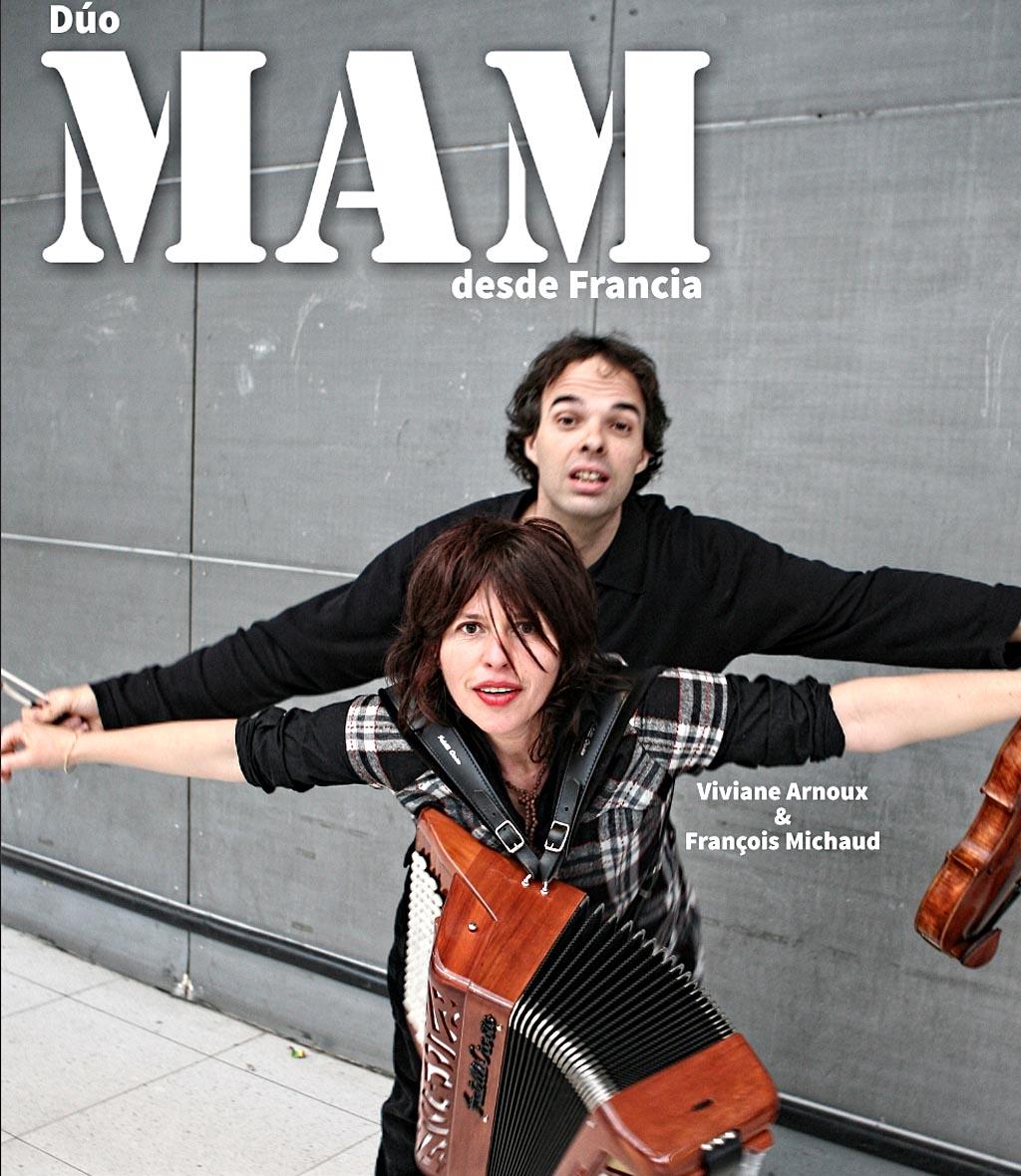 El dúo MaM en concierto