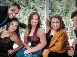 Niobys Delgado (soprano), Laura Díaz (mezzosoprano), Benigno Ávila (tenor) y Mario Lo Russo (barítono)