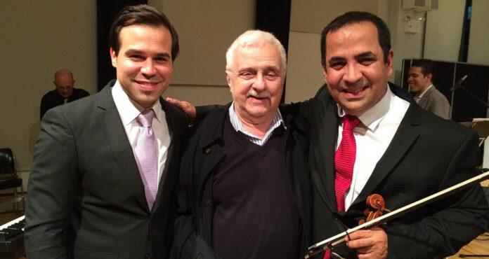 Karlo, Daniel Binelli y Eddy Marcano
