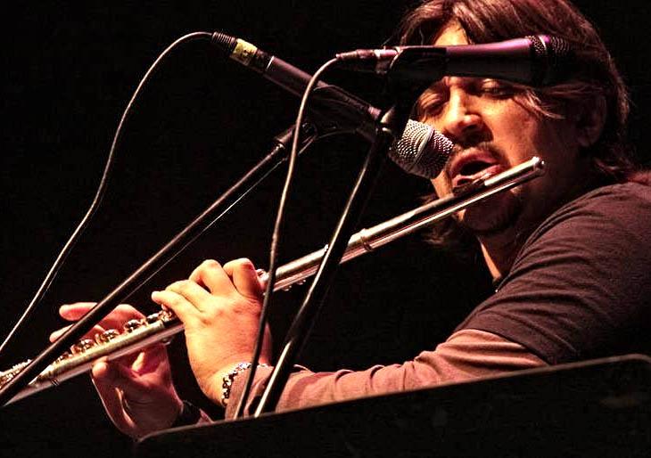 El músico venezolano Lester Paredes en los Premios Iberoamericanos de Cine Fénix