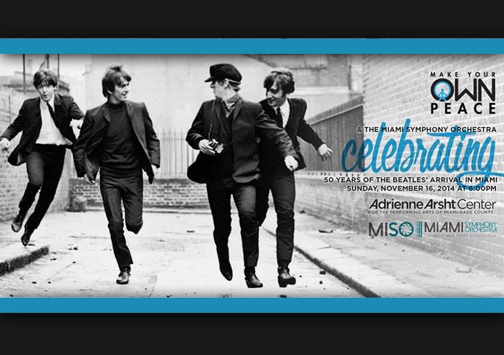 Sinfónica de Miami celebra 50 años de éxitos de The Beatles